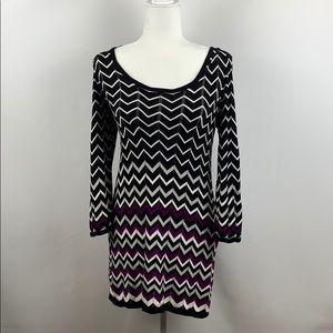 WHBM Chevron Tunic Top/Dress